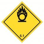 Etichette merci pericolose classe 5.1