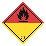 Etichette merci pericolose classe 5.2