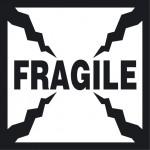 Etichetta Fragile