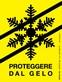 Etichetta proteggere dal gelo