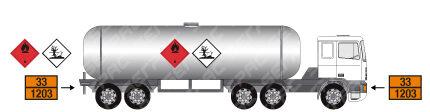 Trasporto di merci pericolose in cisterna