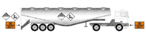 Trasporto in cisterna di merci pericolose solide
