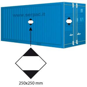 Etichettatura container quantita limitata